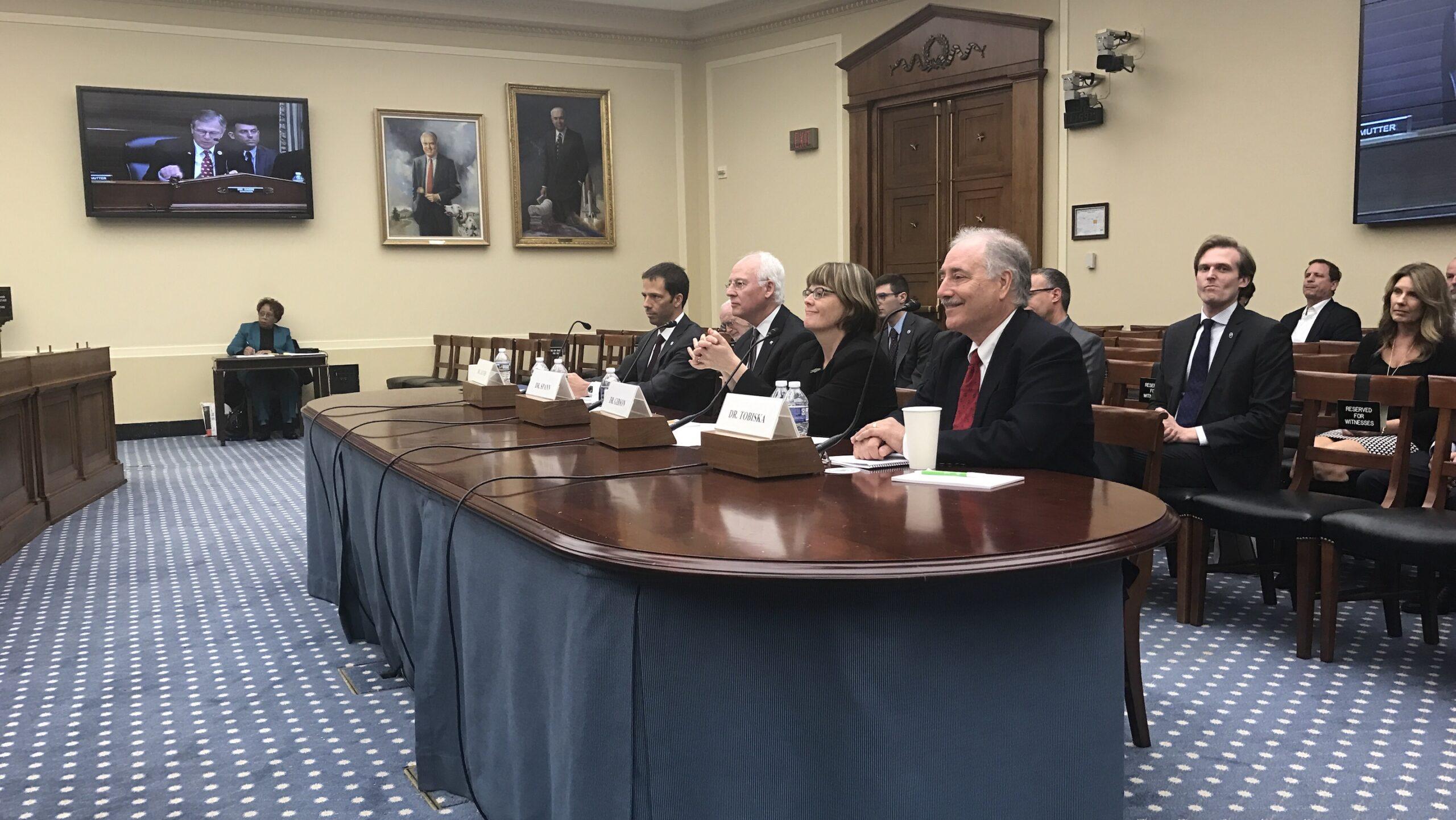 Tobiska testifies before U.S. House Science Committee