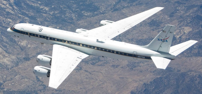 NASA's DC-8 Flight Helps Validate New Technologies
