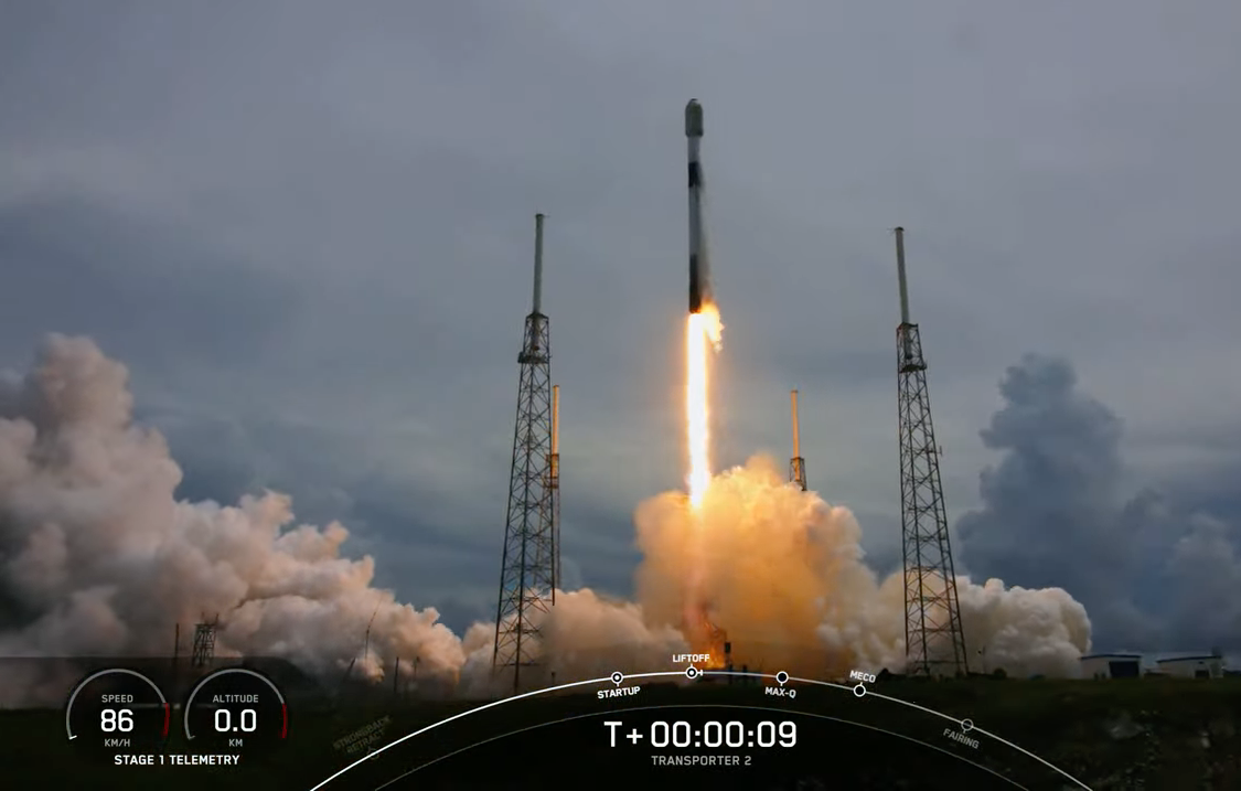 SpaceX launches ARMAS FM8 Radiation Detector into orbit